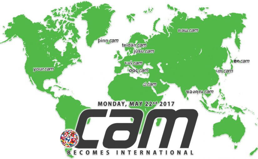 IDN tables for .CAM are live