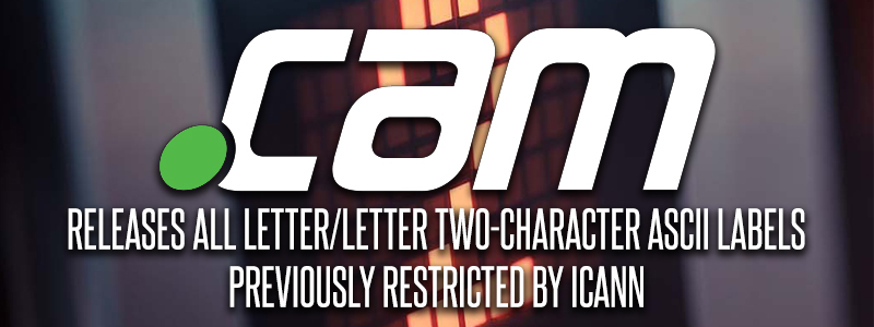 Release of .CAM letter/letter two-character ascii labels