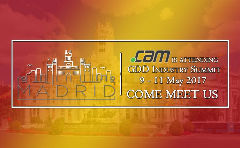 Meet .CAM Registry in Madrid at GDD Industry Summit